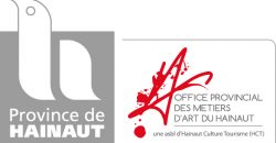 logo Office provincial des métiers d'art-asbl + arche vecto